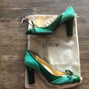J.Crew Jade Heels
